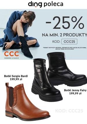 Gazetka promocyjna CCC - Promocja na buty w CCC!