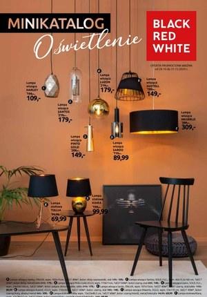 Gazetka promocyjna Black Red White - Minikatalog oświetlenie