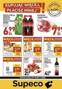 Gazetka promocyjna Supeco - Tanie zakupy w Supeco - ważna do 09-11-2020