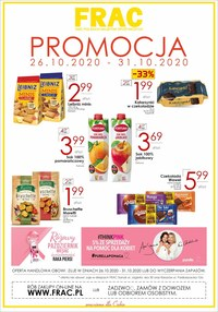Gazetka promocyjna FRAC - Promocja w sklepie FRAC - ważna do 31-10-2020