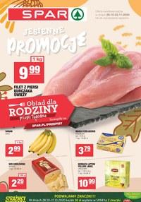 Gazetka promocyjna SPAR - Jesienne promocje w SPAR - ważna do 03-11-2020
