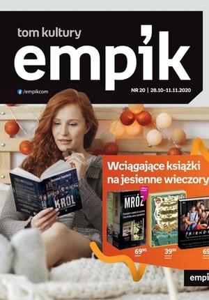 Gazetka promocyjna EMPiK - Książki na jesienne wieczory w Empik