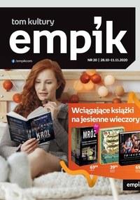 Gazetka promocyjna EMPiK - Książki na jesienne wieczory w Empik - ważna do 11-11-2020