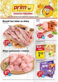Gazetka promocyjna Prim Market - Promocje w sklepach Prim Market - ważna do 04-11-2020