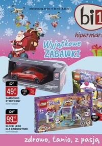 Gazetka promocyjna bi1 - Katalog zabawek Bi1 - ważna do 10-11-2020