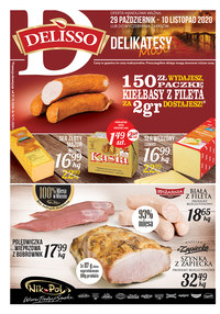 Gazetka promocyjna Delisso - Pomocje w sklepie Delisso - ważna do 10-11-2020