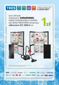Gazetka promocyjna Tres - Katalog AGD Tres - ważna do 31-01-2021