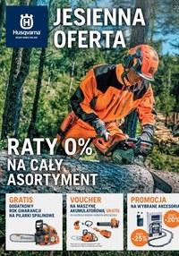 Gazetka promocyjna Husqvarna - Jesienna oferta Husqvarna