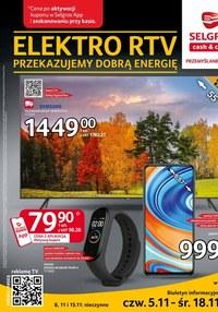 Gazetka promocyjna Selgros Cash&Carry - Katalog Elektro w Selgros - ważna do 18-11-2020