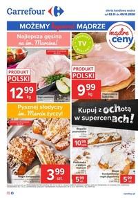 Gazetka promocyjna Carrefour - Oferta spożywcza Carrefour! - ważna do 09-11-2020