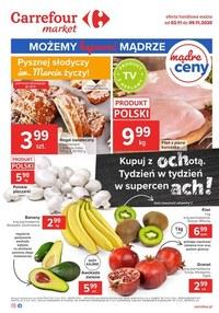 Gazetka promocyjna Carrefour Market - Promocje w Carrefour Market! - ważna do 09-11-2020