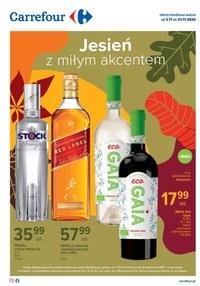 Gazetka promocyjna Carrefour - Oferta alkoholowa w Carrefour! - ważna do 21-11-2020