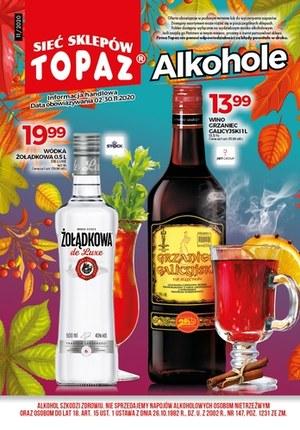 Gazetka promocyjna Topaz - Topaz- Alkohole