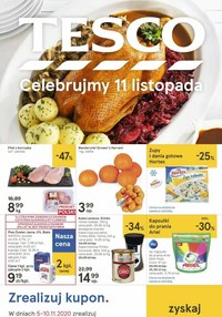 Gazetka promocyjna Tesco Centra Handlowe - Świętuj 11 listopada z Tesco! - ważna do 10-11-2020