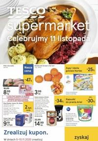 Gazetka promocyjna Tesco Supermarket - Świętuj 11 listopada z Tesco Supermarket! - ważna do 10-11-2020