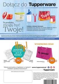 Gazetka promocyjna Tupperware - Nowe kolory w Tupperware