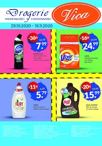 Gazetka promocyjna Vica - Promocje w sklepach Vica - ważna do 16-11-2020