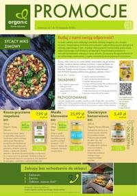 Gazetka promocyjna Organic - Oferta listopadowa Organic - ważna do 30-11-2020