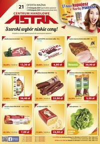 Gazetka promocyjna Astra - Nowe promocje w sklepach Astra! - ważna do 30-11-2020
