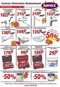 Gazetka promocyjna Ramex - Bogata oferta dla domu w Ramex - ważna do 30-11-2020