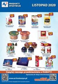 Gazetka promocyjna At - Produkty spożywcze w At - ważna do 30-11-2020