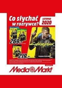 Gazetka promocyjna Media Markt - Co słychać w rozrywce? - Media Markt - ważna do 30-11-2020