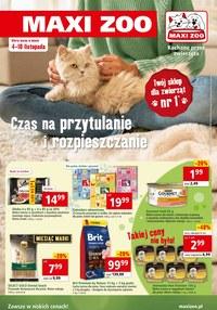 Gazetka promocyjna Maxi ZOO - Czas na przytulanie w Maxi Zoo  - ważna do 10-11-2020