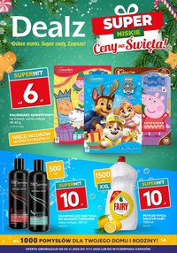 Gazetka promocyjna Dealz - W świątecznym nastroju z Dealz - ważna do 17-11-2020