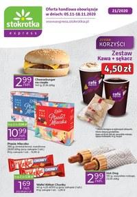 Gazetka promocyjna Stokrotka Express - Smaczne przekąski w Stokrotka Express! - ważna do 12-11-2020
