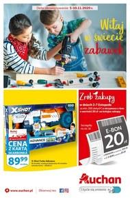 Moc zabawy w Auchan Hipermarket!