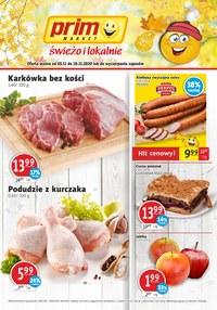 Gazetka promocyjna Prim Market - Jesienny czas wyprzedaży w Prim Market! - ważna do 10-11-2020