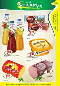 Gazetka promocyjna Sezamek - Promocje w sklepach Sezamek - ważna do 22-11-2020