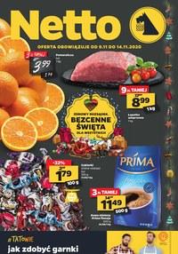 Gazetka promocyjna Netto - Oferta spożywcza Netto!  - ważna do 14-11-2020