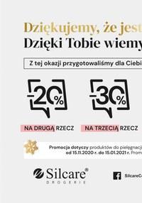 Gazetka promocyjna Silcare - Nowości i premiery na święta w Silcare!