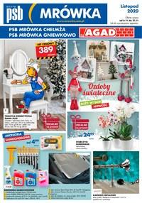 Gazetka promocyjna PSB Mrówka - PSB Mrówka Chełmża, Gniewkowo - ważna do 21-11-2020