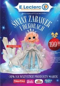 Gazetka promocyjna E.Leclerc - E.Leclerc - świat zabawek i dekoracji - ważna do 24-11-2020