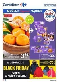 Gazetka promocyjna Carrefour - Możemy kupować mądrze Carrefour! - ważna do 21-11-2020