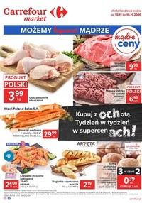 Gazetka promocyjna Carrefour Market - Carrefour Market - możemy kupować mądrze - ważna do 16-11-2020