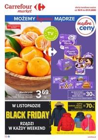 Gazetka promocyjna Carrefour Market - Carrefour Market - gazetka promocyjna - ważna do 21-11-2020