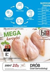 Gazetka promocyjna bi1 - Promocje w sklepach Bi1 - ważna do 17-11-2020