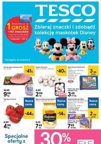 Gazetka promocyjna Tesco Centra Handlowe - Zdobądź kolekcję maskotek Disney z Tesco! - ważna do 18-11-2020