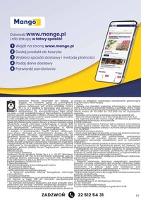 Gazetka promocyjna Telezakupy Mango - Telezakupy Mango - jesienne okazje