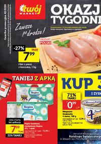 Gazetka promocyjna Twój Market - Okazje tygodnia w Twój Market - ważna do 17-11-2020