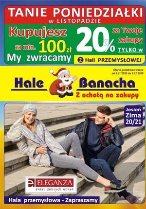 Gazetka promocyjna Hala Banacha - Tanie poniedziałki na Halach Banacha