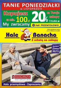 Gazetka promocyjna Hala Banacha - Tanie poniedziałki na Halach Banacha - ważna do 08-12-2020