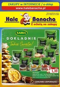 Gazetka promocyjna Hala Banacha - Z ochotą na zakupy - Hale Banacha! - ważna do 08-12-2020