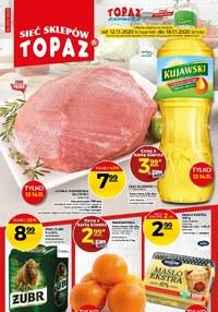 Gazetka promocyjna Topaz - Promocje na święta w Topaz! - ważna do 18-11-2020