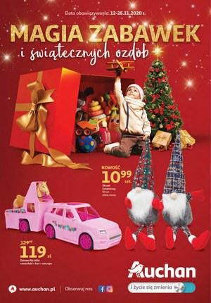 Gazetka promocyjna Auchan Hipermarket - Prezenty na gwiazdkę w Auchan!