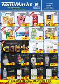 Gazetka promocyjna TomiMarkt - TomiMarkt Twój sklep na co dzień - ważna do 12-11-2020