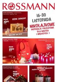 Gazetka promocyjna Rossmann - Rossmann - Mikołajkowe inspiracje - ważna do 30-11-2020